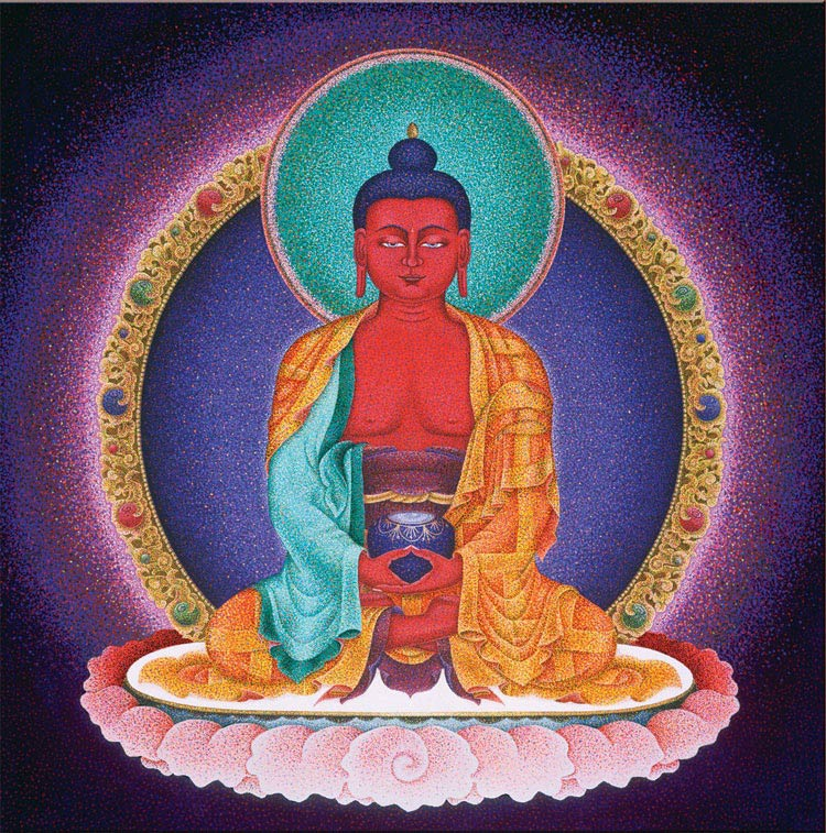 Amitabha: Red Buddha of Infinite Light
