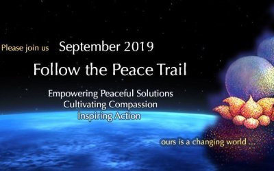 """""""Follow the Peace Trail"""" September 2019"""