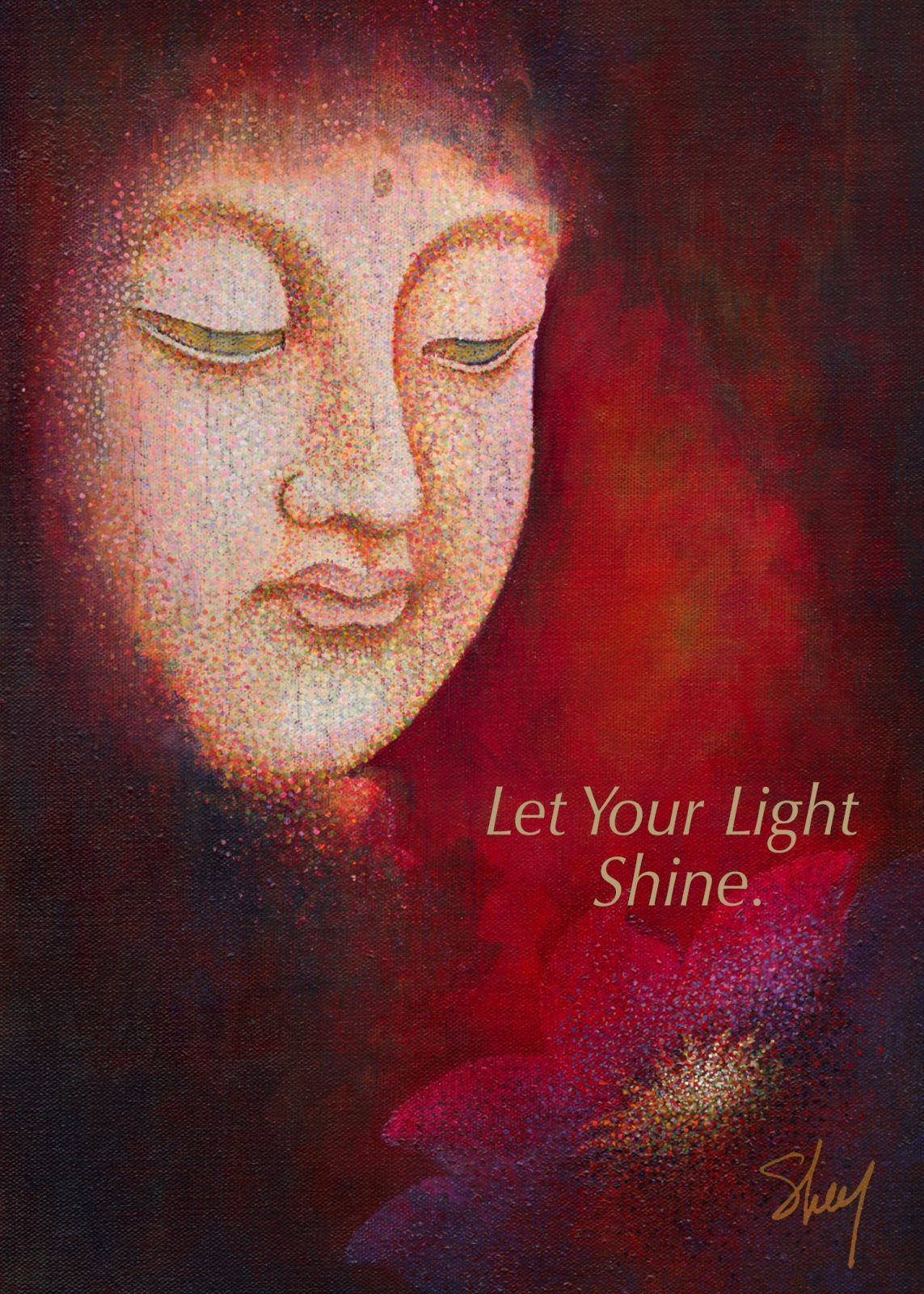 Greeting Cards - Let Your Light Shine