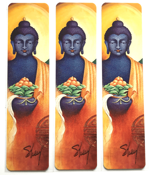 art bookmark Buddha