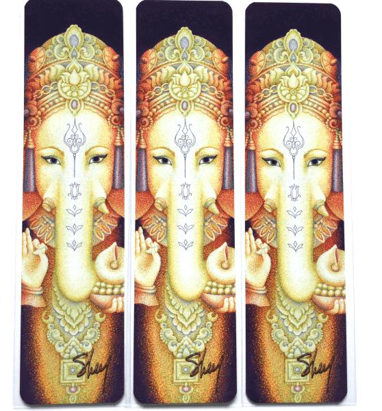 art bookmarks - Ganesha