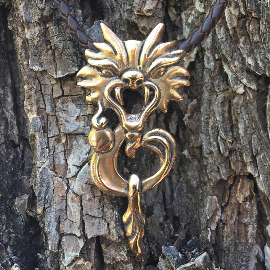 Art Jewelry Dragon Design