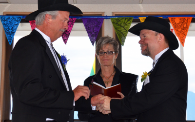 Forever and a mile … Wedding Officiate