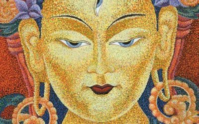 Mother Tara: Angel of Peace, An Image of White Tara